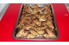 Helyben sütött csirke szárny